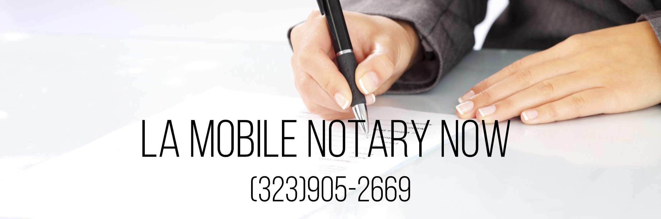 Mobile Notary Los Angeles Image