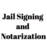 Notary Public in jail: can it be done?