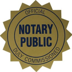 Notarizing for the elderly and disabled, utilizing a mobile Notary Public