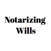 Notarize a will in Los Angeles, California. Notary Public witness a Will